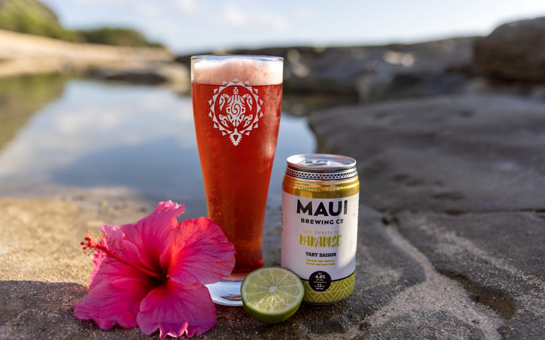 PACK YOUR BAGS AND HEAD TO MAUI BREWING COMPANY